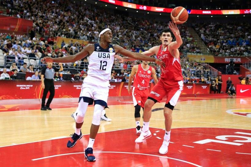 LÄHEDAL! USA pääses korvpalli MMil üle noatera