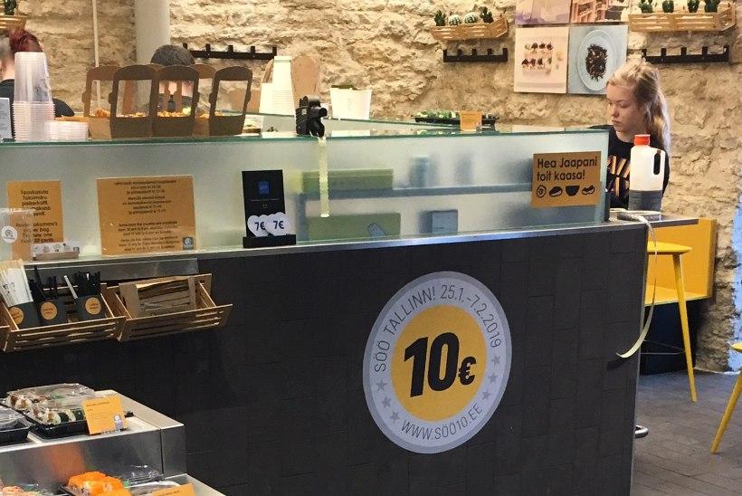 Söö! Tallinn raames saab reedest 10 euroga tipprestodes einestada