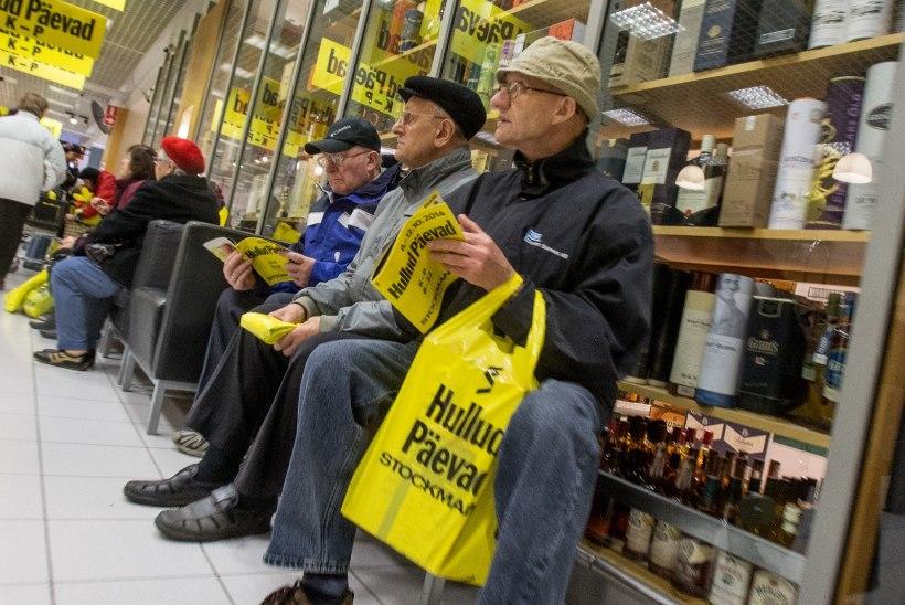 Kuidas erinevad Eesti Stockmanni hullud päevad Soome omadest? Vähem kaupa, rohkem vetsupaberit, aga hinnad samad!
