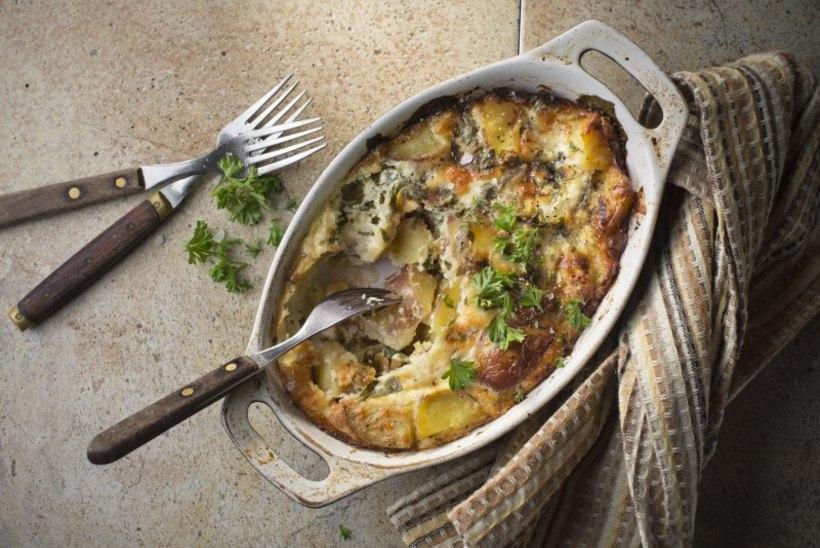 PÄEVARETSEPT | Kartulivorm juustu, spinati ja apteegitilliga