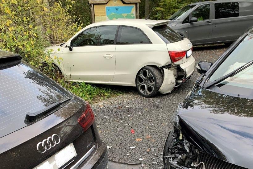 FOTOD | Grete Paia auto sõideti parklas puruks: kohale jõudes vaatasin, et miks mu auto võpsikus on