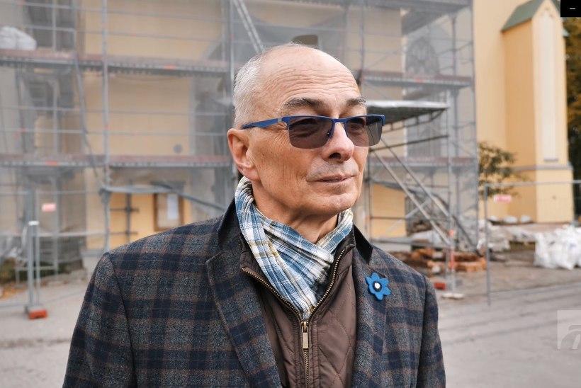 ÕL VIDEO | Vaimulik Jaan Tammsalu: jumal tänatud, et saame korda Jaani kiriku torni, mis võinuks tormiga alla kukkuda