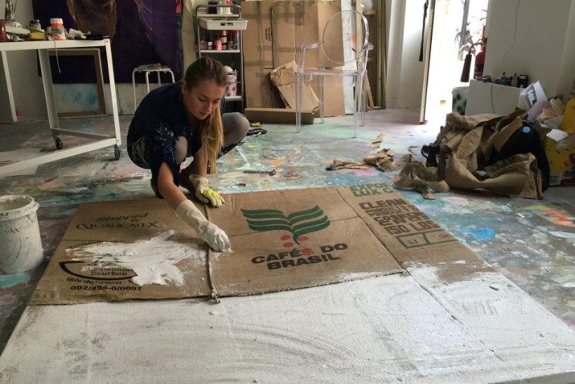 """Londonis elav kunstnik Meriliis Rinne: """"Mind endiselt sütitab, kui keegi ütleb mulle: sa ei saa sellega hakkama!"""""""