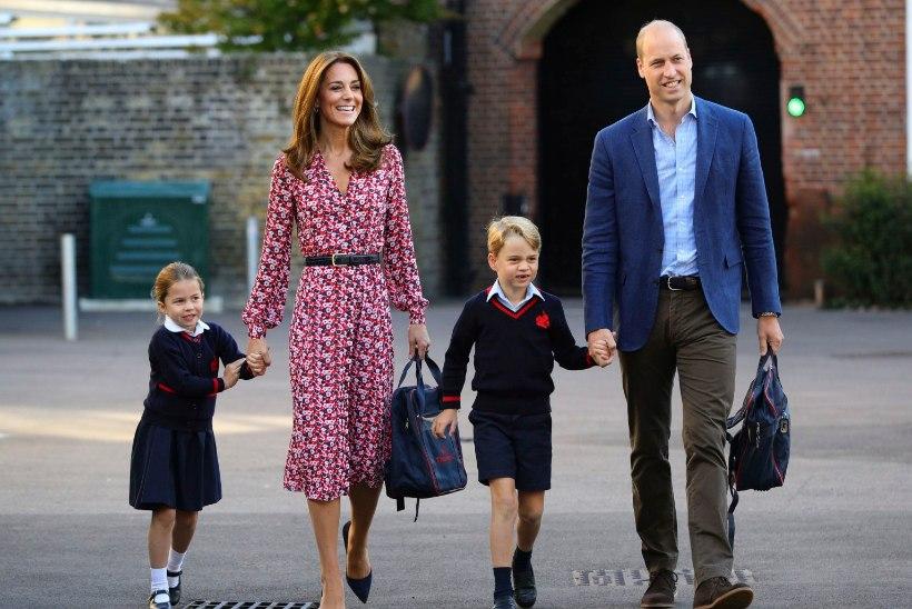 VIDEO | Printsess Charlotte alustas kooliteed!