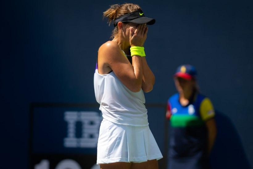 Mis saanuks, kui...? Konteveidilt loobumisvõidu saanud tennisist jõudis US Openil poolfinaali