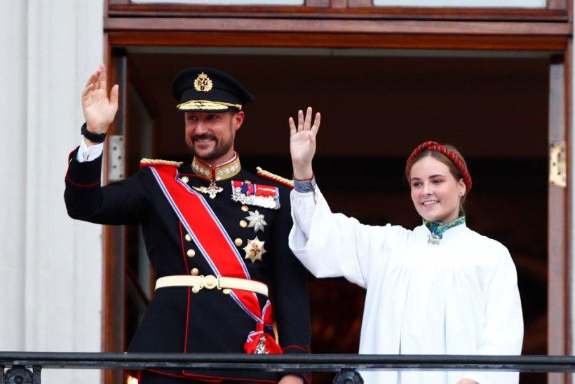 VIDEO   Tulevane Norra kuninganna, printsess Ingrid läbis leeri