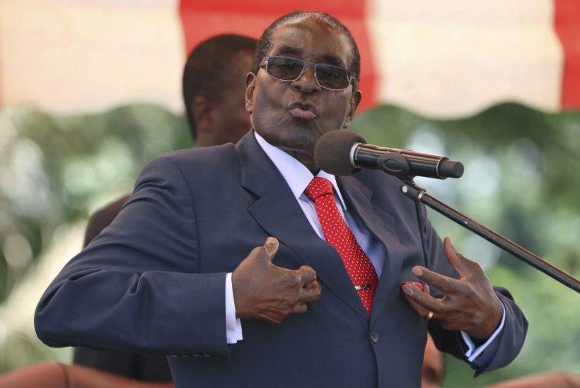 Suri Zimbabwe endine riigipea Robert Mugabe
