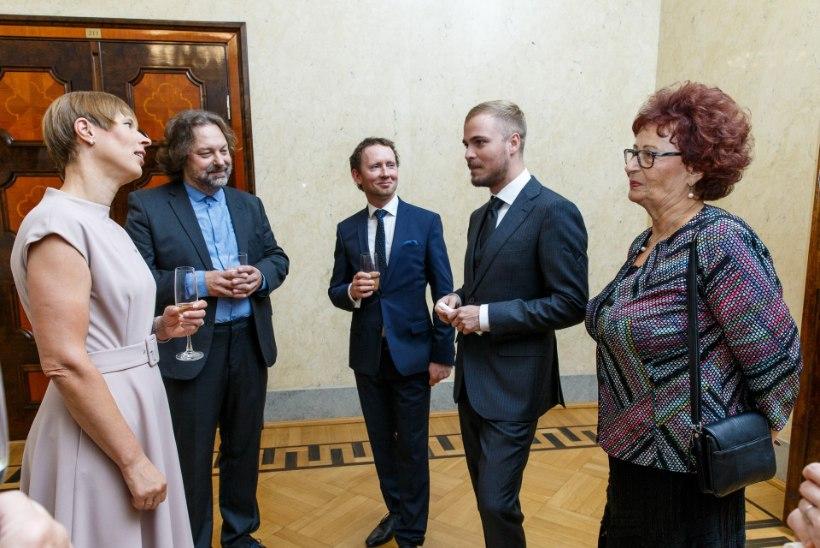 ÕL VIDEO JA FOTOD | Presidendilt kultuuripreemia saanud Kadri Voorand: Eesti on suur muusikariik!