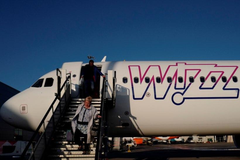 Odavlennufirma Wizz Air lõpetab otselennud Tallinnast Londonisse