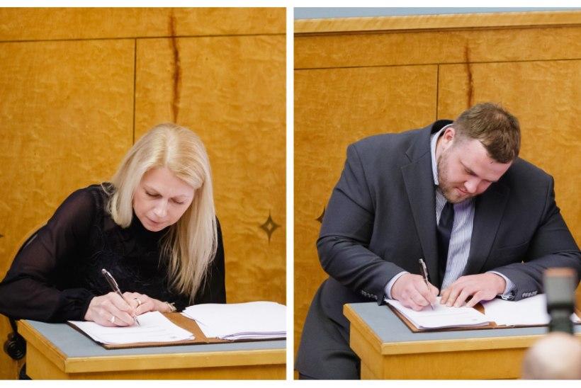 DEBÜTANDID RIIGIKOGUS! Millised on Kristina Šmigun-Vähi ja Baruto 130 päeva Toompea muljed?