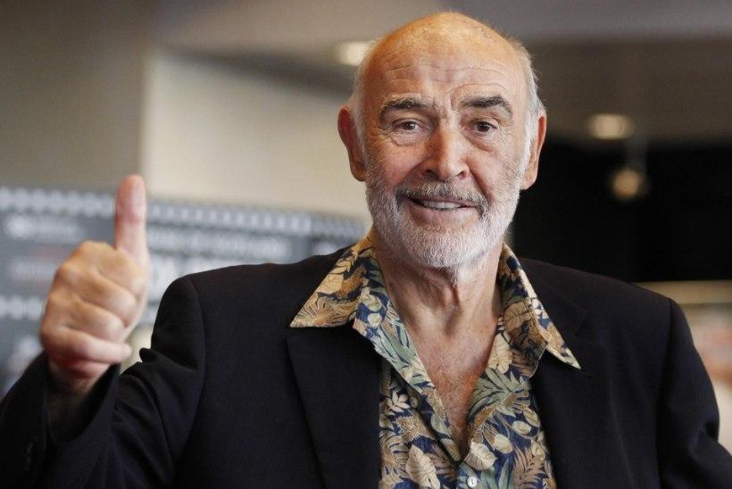 Sean Connery pääses Bahama orkaanist eluga