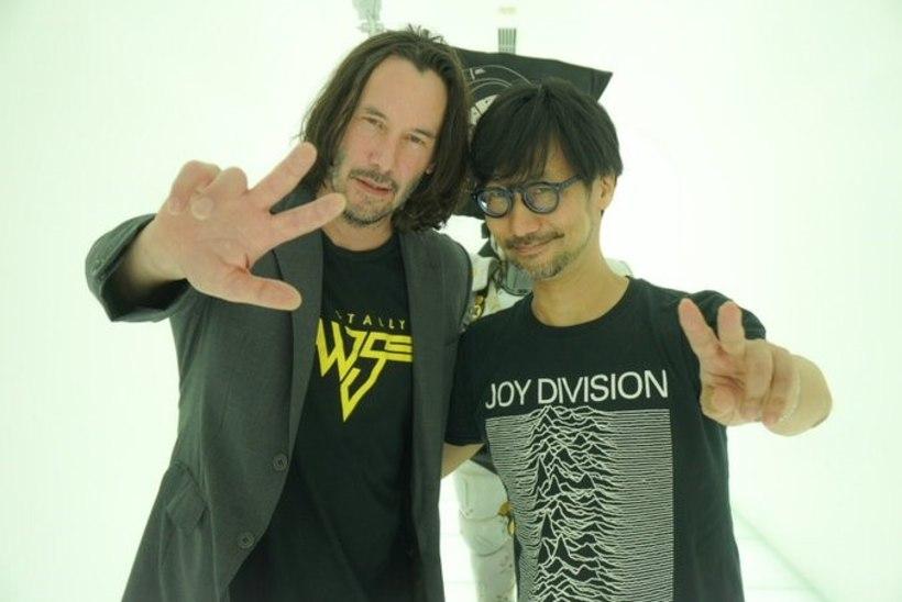 PEAVAD SALAPLAANI? Hideo Kojima tutvustas Keanu Reevesile enda töötuba