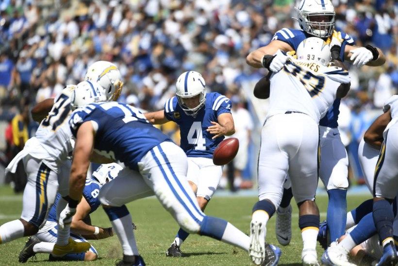 Hunt ja Colts alustasid hooaega valusa kaotusega lisaajal