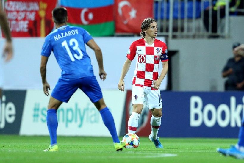 Maailma parima mängija väravast horvaatidele võiduks ei piisanud
