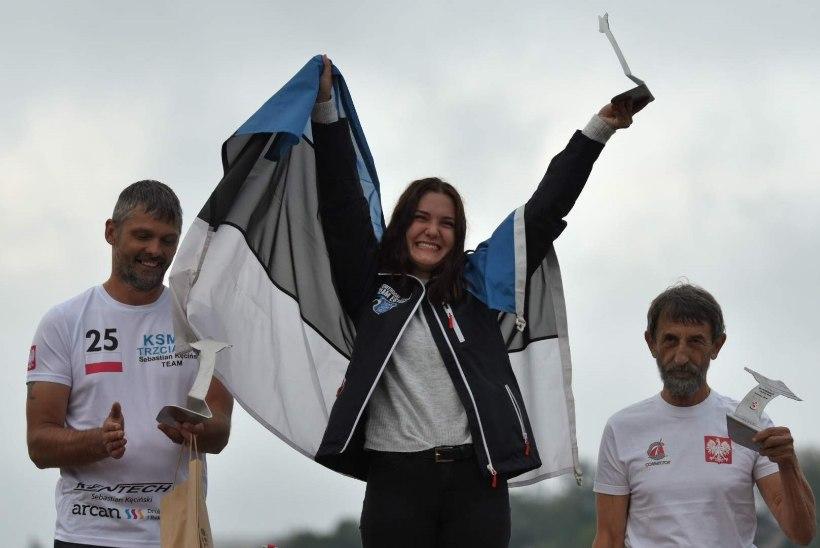 TUBLI: Sanna Aaslav-Kaasik võitis MM-etapi