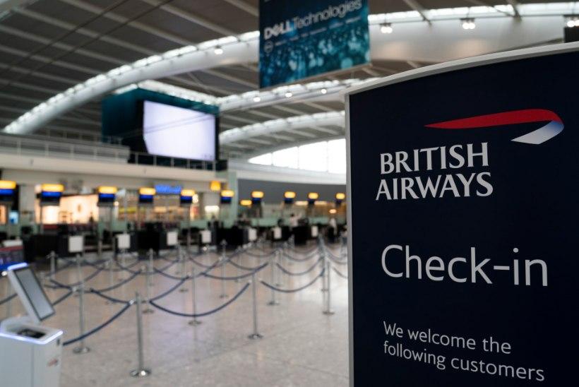 Algas British Airwaysi lendurite kahepäevane streik