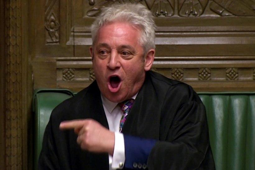 """""""ORDEEER!"""" Suurbritannia parlamendi valjuhäälne spiiker teatas, et lahkub ametist"""