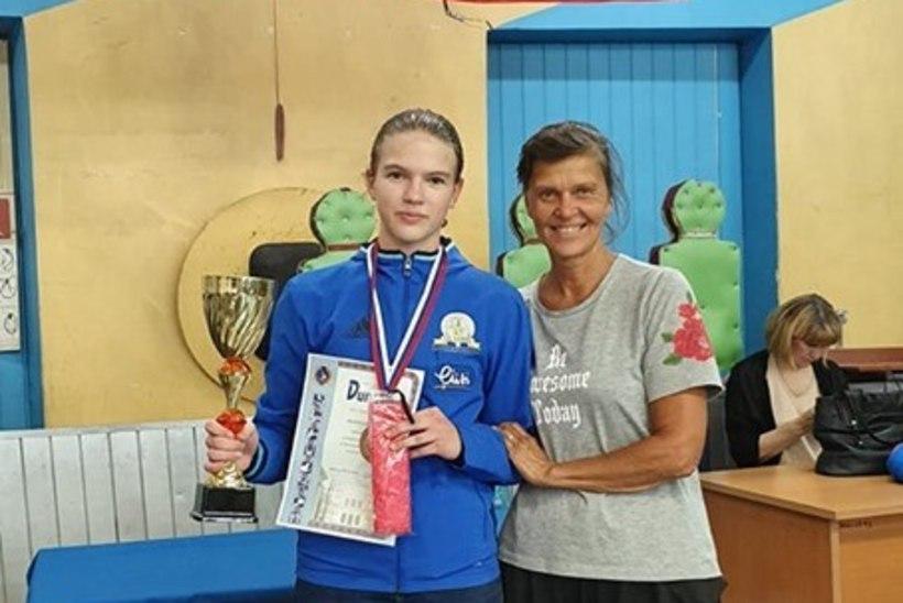 UUS TULEVIKULOOTUS: Helen Nelis-Naukase õpilane tuli Venemaal kolmandaks