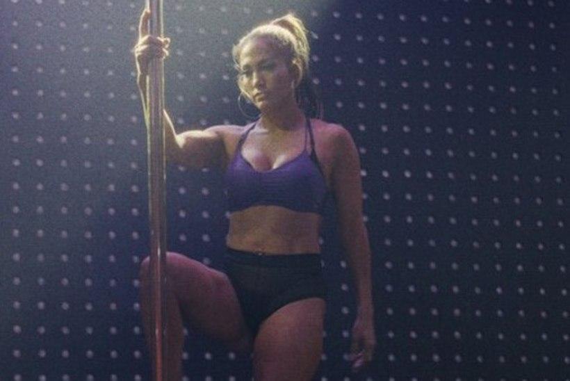 VIDEO   Vaata, kuidas J-Lo stripparifilmi jaoks postitantsu õppis