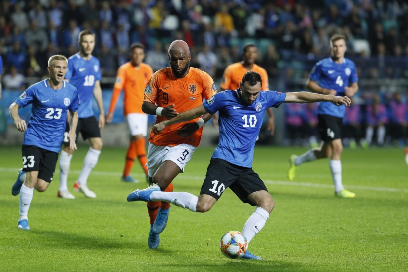 GALERII | Eesti võitles kuis jaksas, kuid Holland võttis kindla võidu