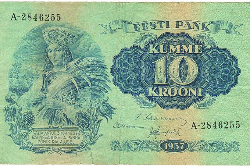 Jaanuaris ajaloos: rahareformi võidab kroon, edestades iva ja matsi