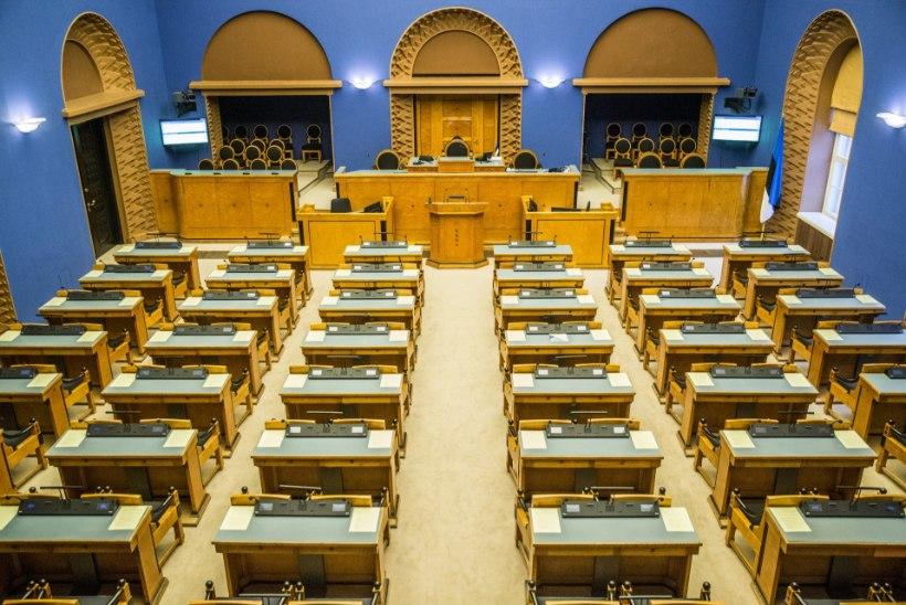 Tõnis Erilaiu lehesaba | Kuidas Eesti parlamendi nimeks pakuti riigitõim