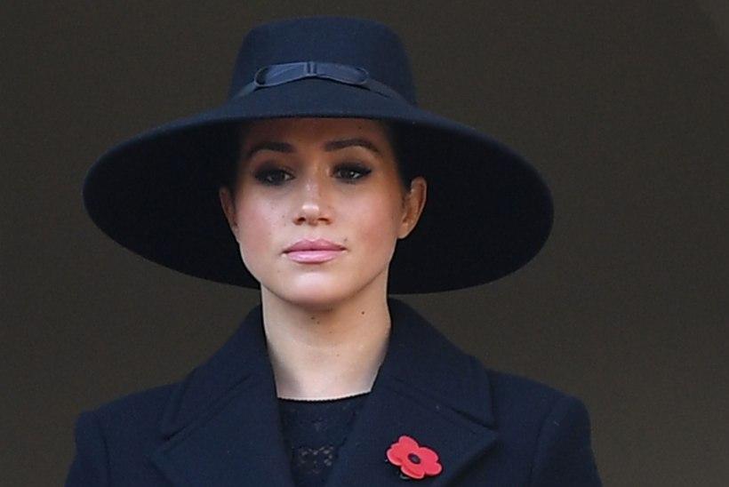 Hertsoginna Meghan pages skandaali eest Kanadasse