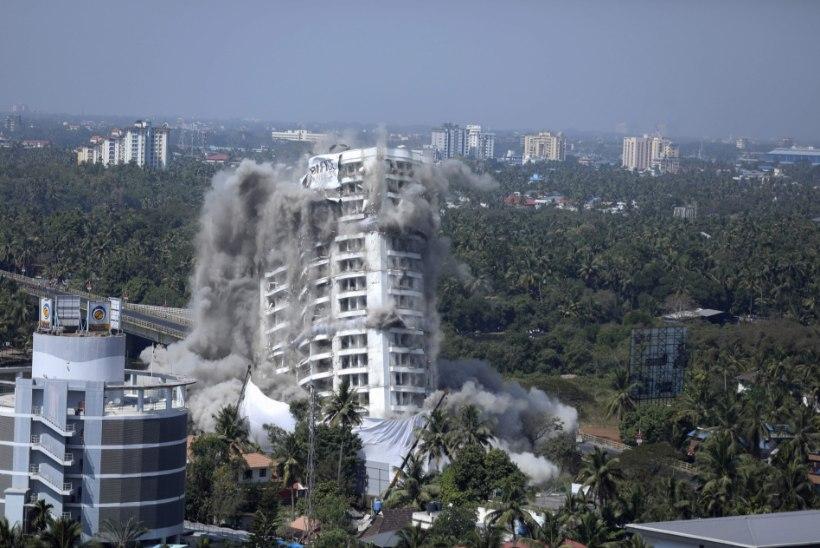 Kõrghooned lendasid taeva tuulde: 2000 kodutut