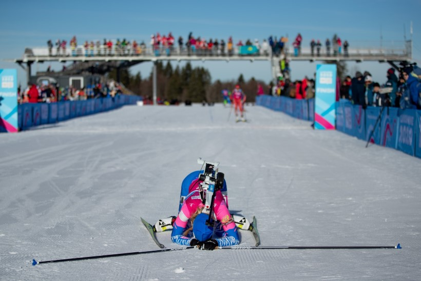 Noorte taliolümpia teine päev: Eesti parim laskesuusataja lõpetas 15. kohal, kullad Venemaa sportlastele