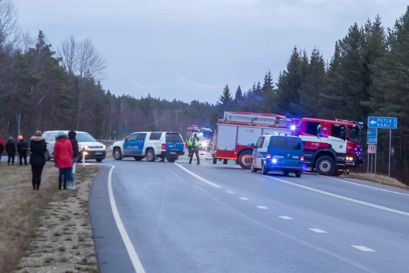 """Saaremaa liiklusmõrva pealtnägija: """"See oli nii jõhker pauk, et jääb eluks ajaks meelde."""""""