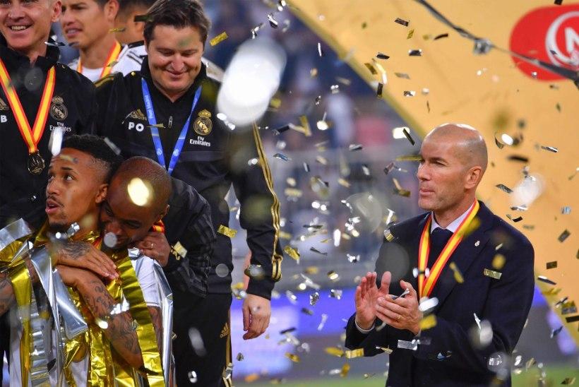 VÕITMATU! Zinedine Zidane võitis peatreenerina järjekordse finaali!