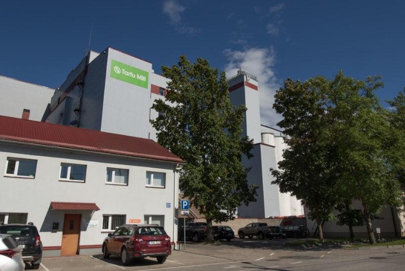 Jahutootja soovib ehitada Tartu kesklinna piirile neli kõrget viljamahutit