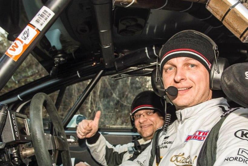 TOHOH! Tänak polegi Monte Carlos ainus WRC-masina rooli istuv baltimaalane!