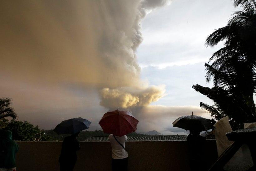 Filipiinidel asuv vulkaan võib peagi ohtlikult pursata