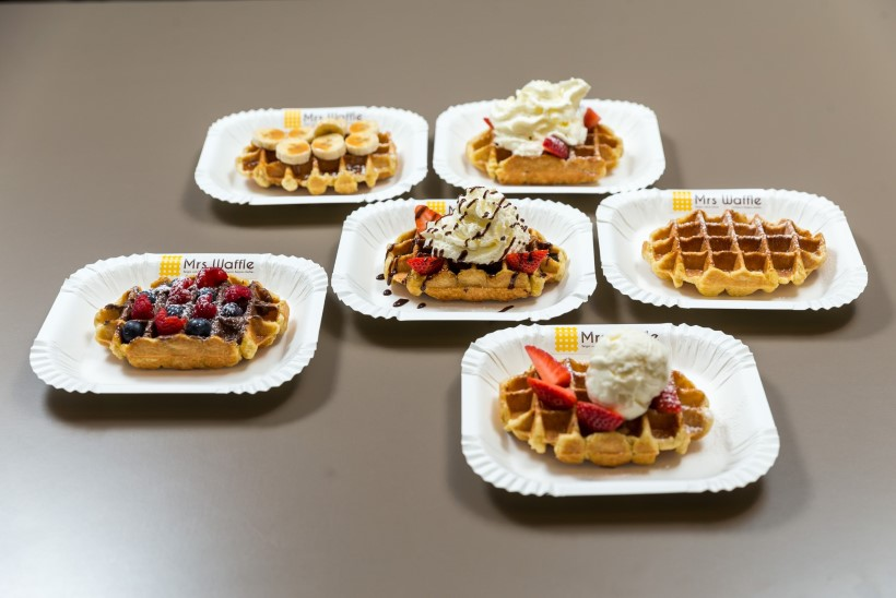 Mrs Waffle vahvlid keelitavad oma lõhnaga, näevad imelised välja ja viivad keele alla!