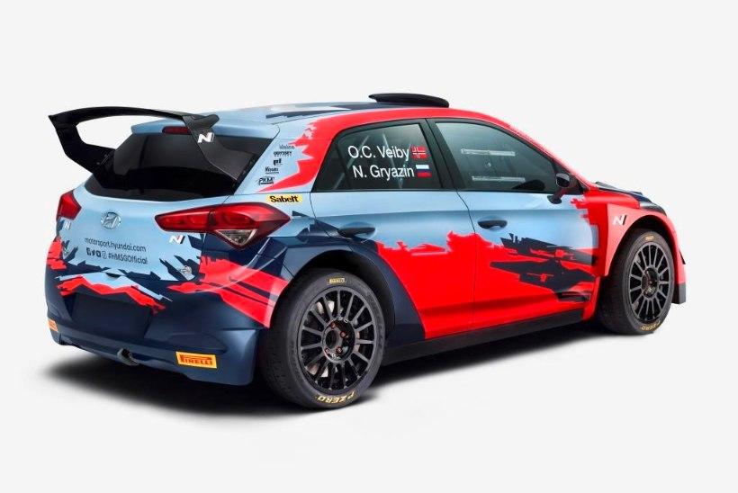 Hyundai osaleb ka WRC2-sarjas, autosid hooldab Eesti tiim