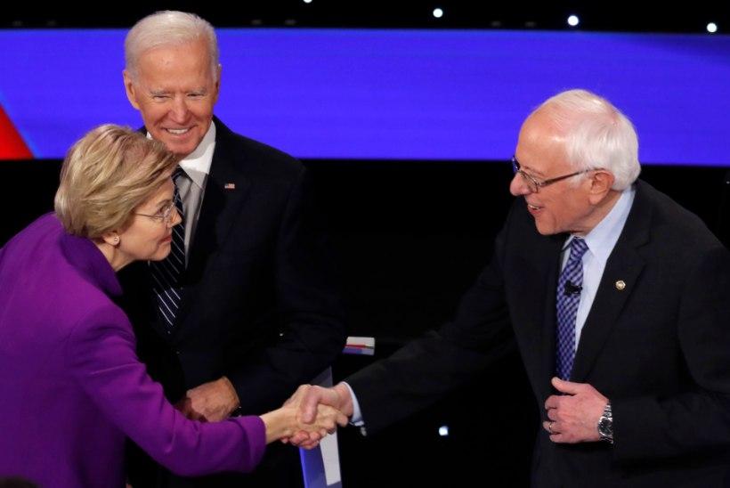 SEKSISMISÜÜDISTUS: kas Bernie Sanders ütles konkurendile näkku, et naisest presidenti ei saa?