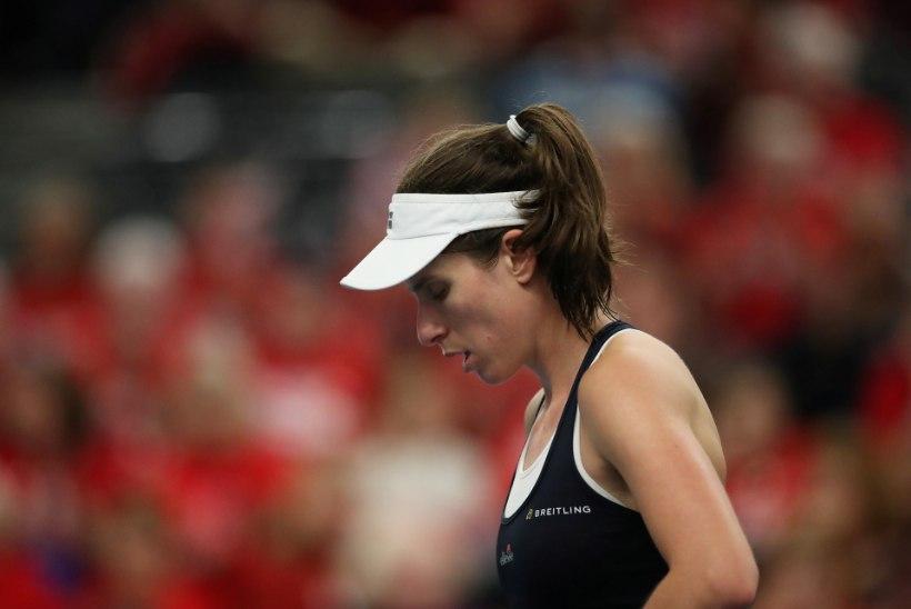 ÕÕVASTAV VIDEO | Serbia tennisist kukkus Austraalia metsapõlengute tõttu kokku ja katkestas
