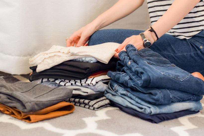 Kui palju raha sul riidekapis seisab? Vaata järele, kuidas see välja arvutada!