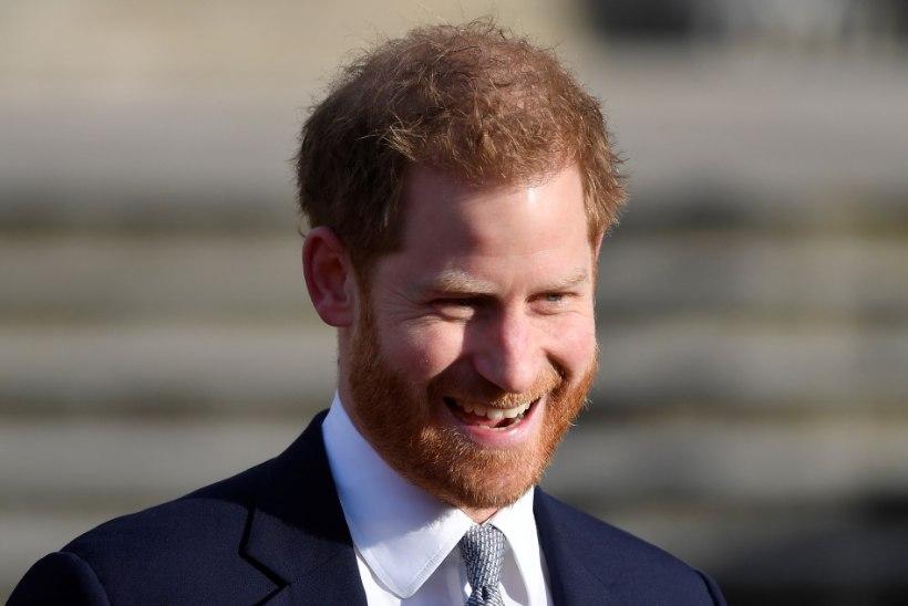 Naerusuine Harry astus pärast skandaali puhkemist esmakordselt avalikkuse ette