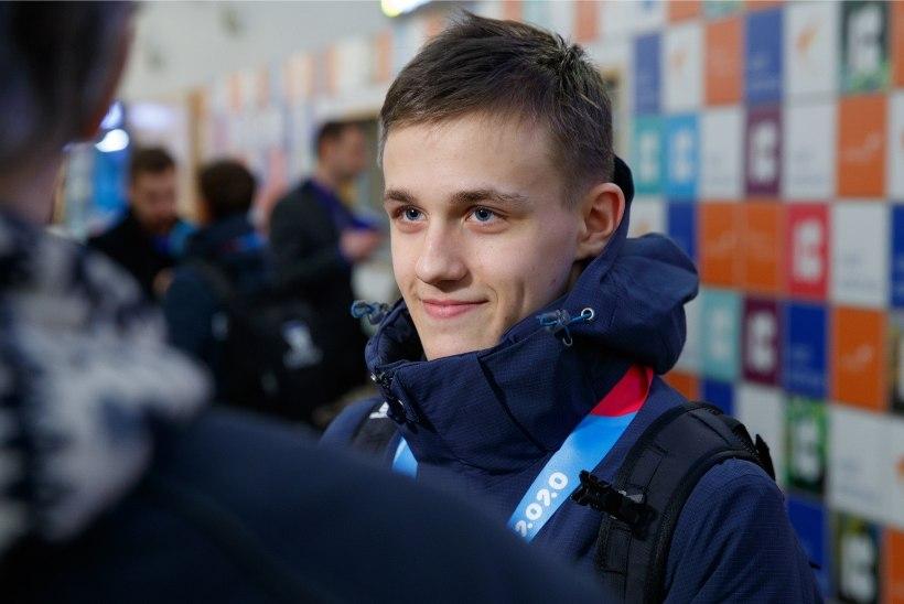 GALERII | Noored olümpiasangarid jõudsid koju