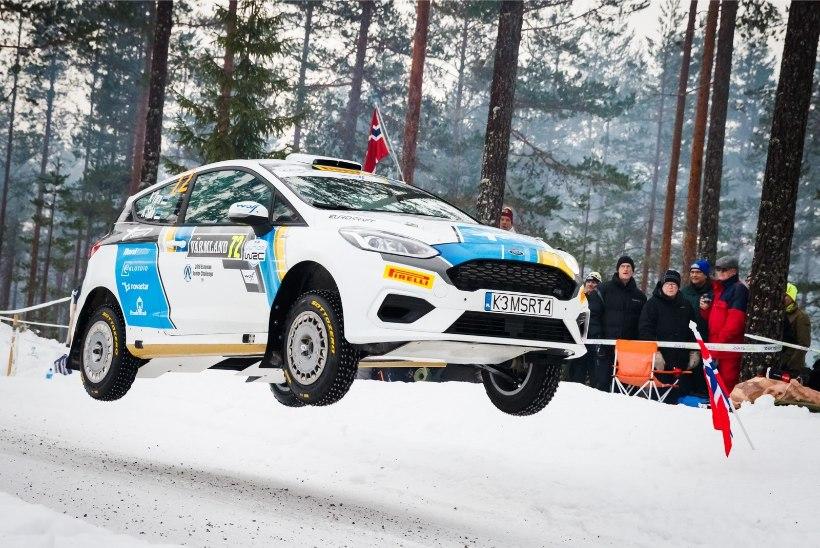 EDU! Veel üks Eesti ralliekipaaž kinnitas Rootsi MM-rallil osalemise