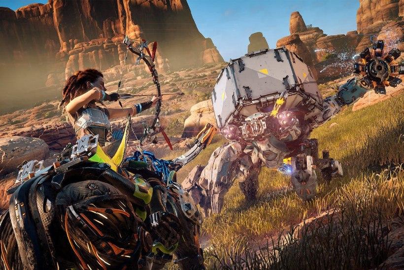 """SAHINAD: PlayStation 4 eksklusiivmäng """"Horizon: Zero Dawn"""" jõuab peagi arvutile"""