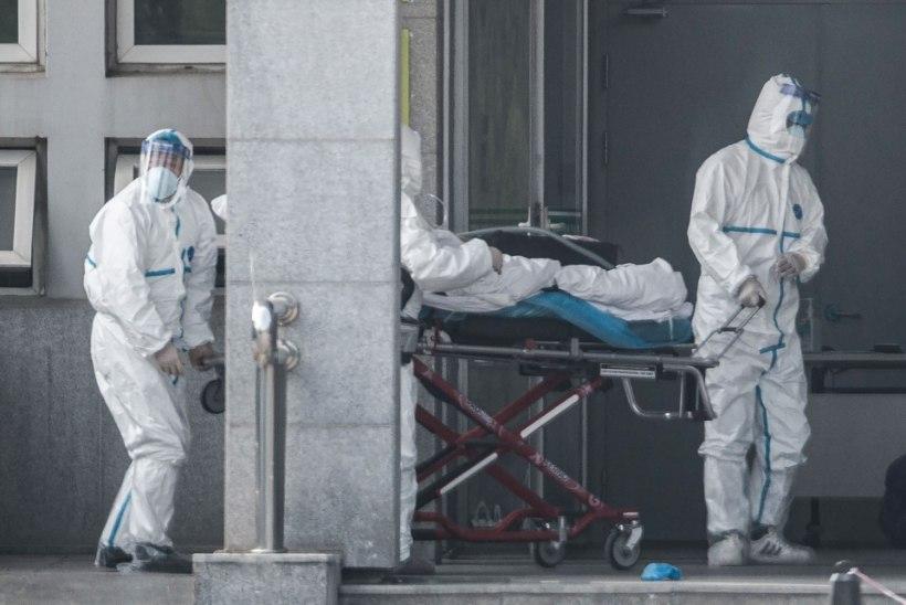 Hiina teatas üliohtliku koroonaviiruse uutest ohvritest