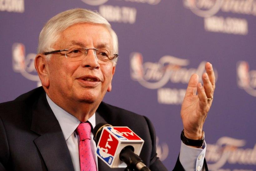 NBA ON LEINAS: suri korvpalliliigat enim arendanud komissar