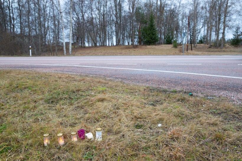 Pimedal maanteel hukkunud hääletaja oli jõudnud kodutalule õige lähedale