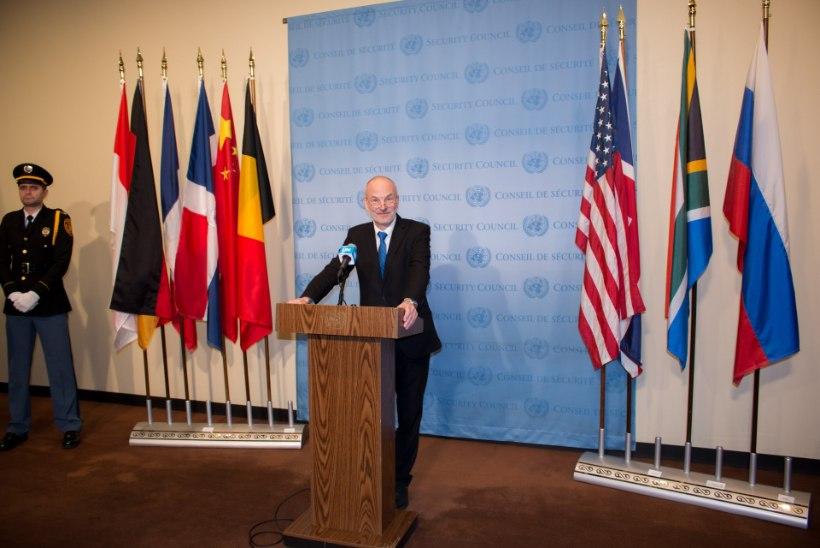 VIDEO | ÜRO julgeolekunõukogu saaliesist kaunistab nüüd ka Eesti lipp