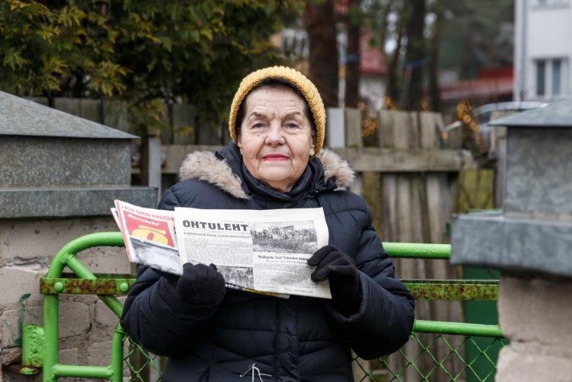 ÕL VIDEO   LIIGUTAV TRUUDUS: Maie Parrikul on Õhtuleht käinud juba 75 aastat!