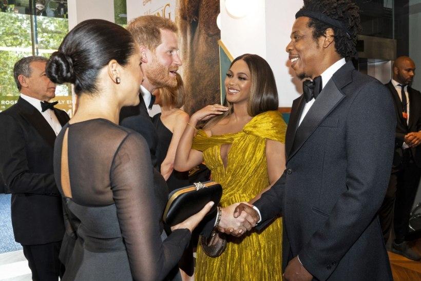 VIDEO  | Vaata Beyoncé haput naeratust, kui Harry nuiab Meghanile tööd!