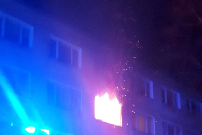 Hukkunud valvur päästis sotsiaalmaja tulekahju põhjustanud noore narkomaani elu